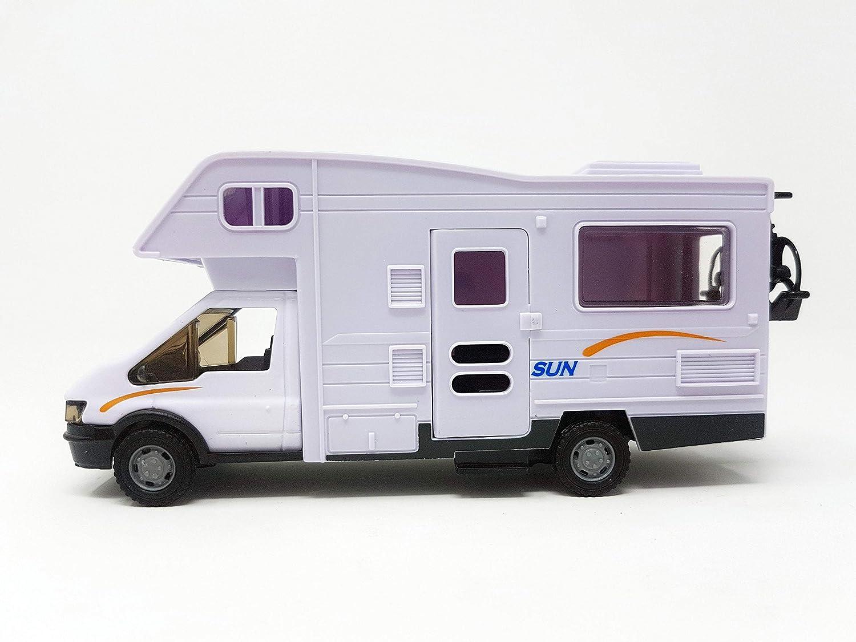 Die Cast Metallo Auto Car modello giochi per Bambini 21cm Camper Motorhome ca Regalo ideale