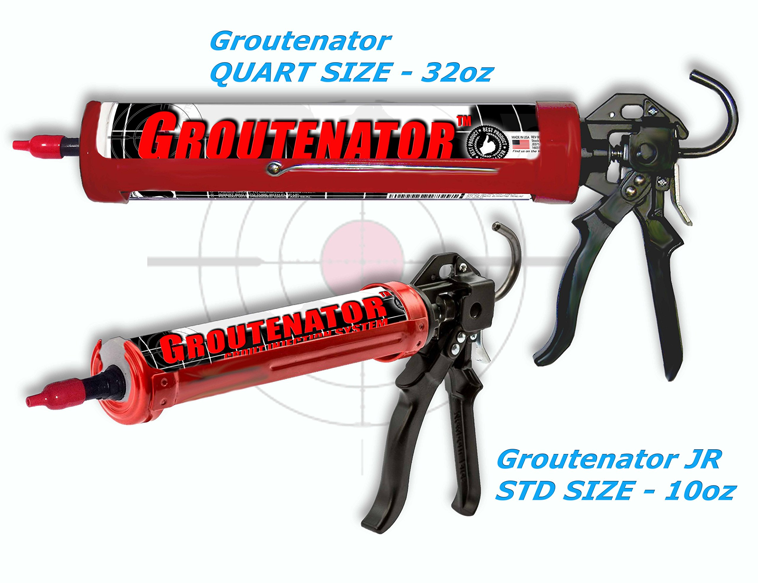 GROUTENATOR - Caulk Gun Injection System for Tile Grout, Mortar, Cement, Glues and more... Grout Bag and Float Replacement. by Sundog Systems (Image #4)