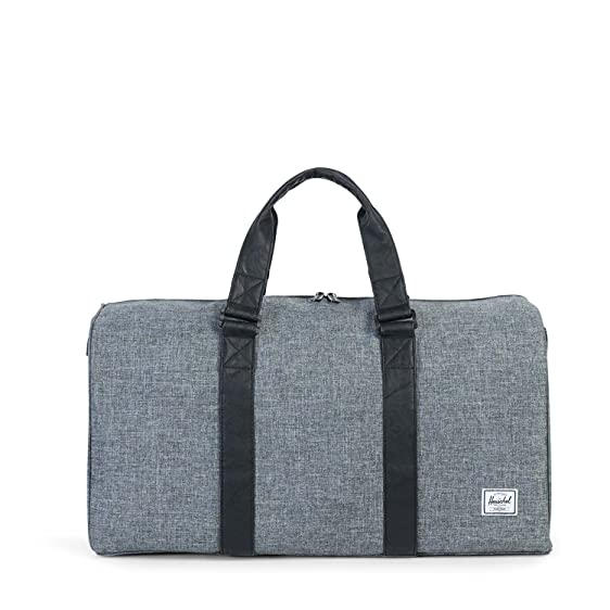 Herschel Ravine Duffle Bag One Size Raven Crosshatch Black j42i577efr
