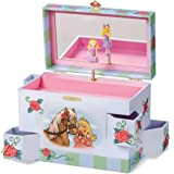 Enchantmints Rose Petal Princess Music Jewelry Box