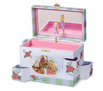 Amazoncom Enchantmints Rose Petal Princess Music Jewelry Box Toys