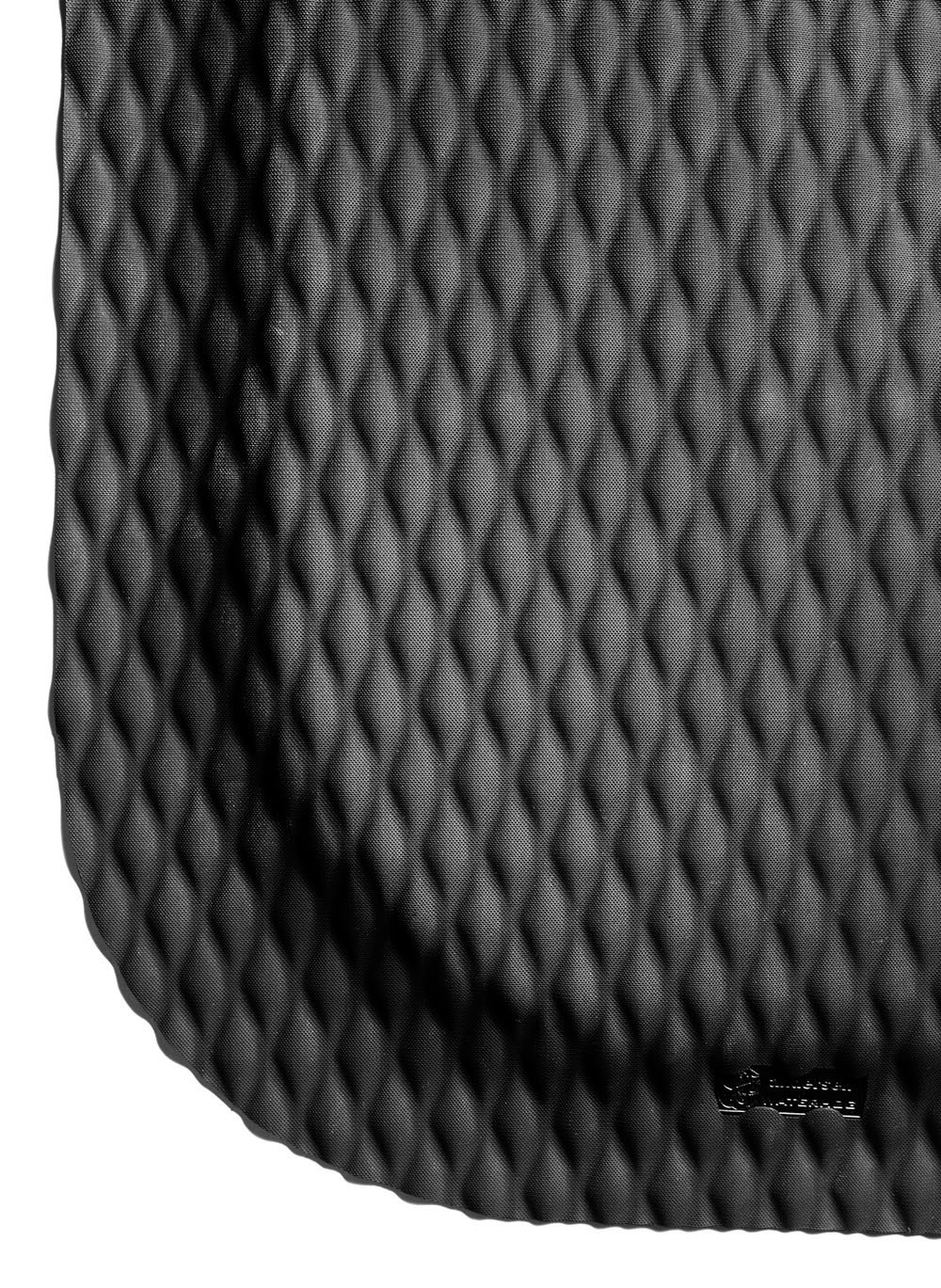 Hog Heaven Ergonomic Industrial-Grade Anti-Fatigue Mat 7 8 6 Length x 4 Width x Black by M A Matting
