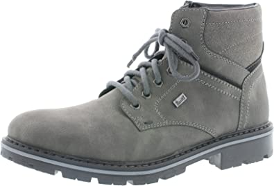 9 Rieker Mens-Stiefel grau