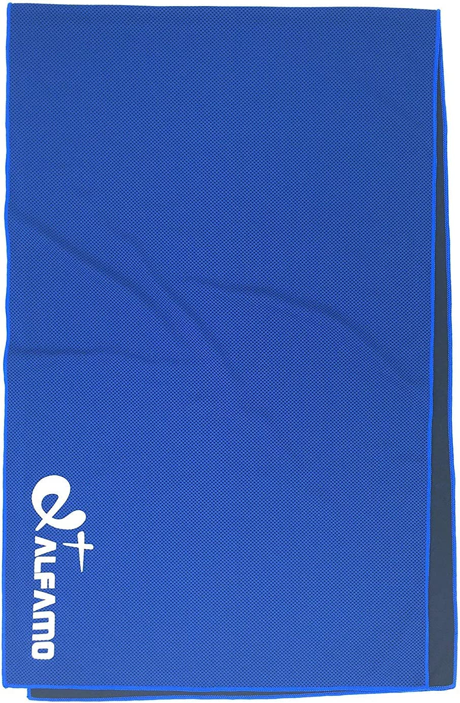 Alfamo Cooling Towel for Sports, Workout, Fitness, Gym, Yoga, Pilates, Travel, Camping & More