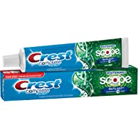 Crest Complete Multi-Benefit Whitening with Scope Outlast Long Lasting Mint Flavor Toothpaste, 5.8 oz.