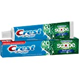 Crest Complete Multi-Benefit Whitening + Scope Outlast, Mint Toothpaste, 5.8 Oz