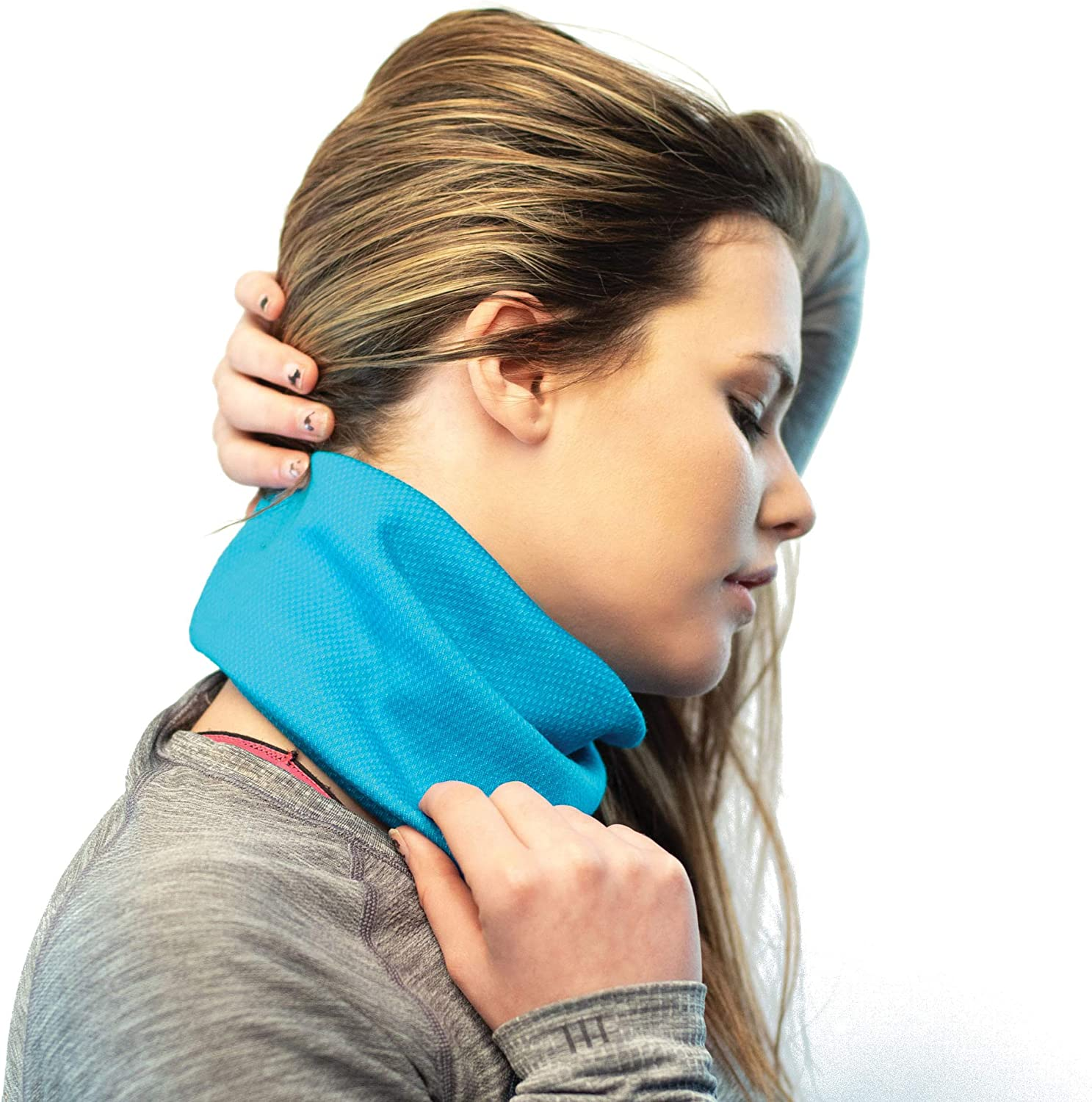 Ideal Neck Gaiter Perfect for Cold Weather Running Red Dust Active Merino Wool Blend Neck Gaiter Winter Neck Warmer for Active Women
