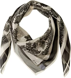 80ba5fb327994 Echo Women's Foulard Silk Square Scarf Accessory, -chambray, One ...