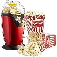 Sokany 1200watts Aluminum Popcorn Maker (Red, 32.3x18.9x18.8cm)