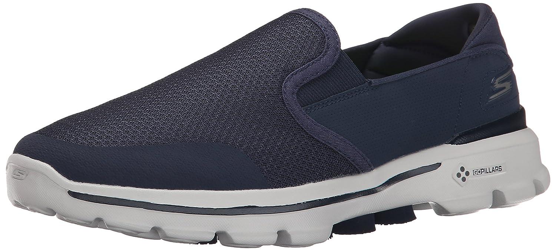 Skechers Go Walk 3 Charge - Zapatillas Hombre 43 EU Azul - Azul (Nvgy)