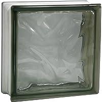5 piezas FUCHS bloques de vidrio nube gris