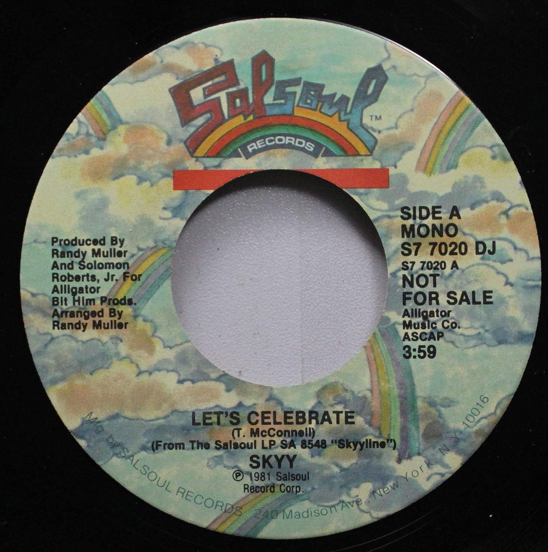 SKYY - SKYY / Let's Celebrate /45rpm record - Amazon com Music