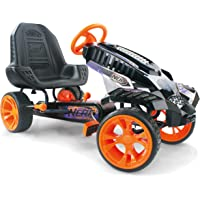 HAUCK Nerf Battle Racer Kart–Pedal Vehículo con Nerf