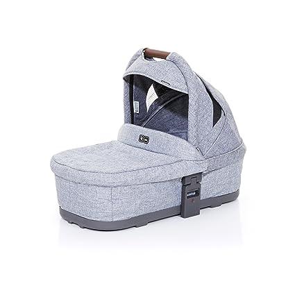 ABC Design 91253603 Carrycot Plus capazo blanda para Cobra y Mamba, graphite grey/Graphite