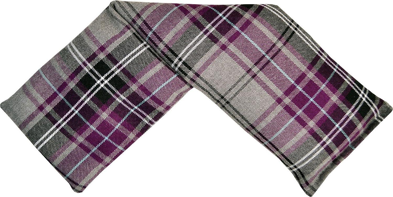 Vagabond Bags Tartan Wheat Wrap Saco térmico con semillas de trigo y lavanda de Cotswold de estilo de cuadros escoceses