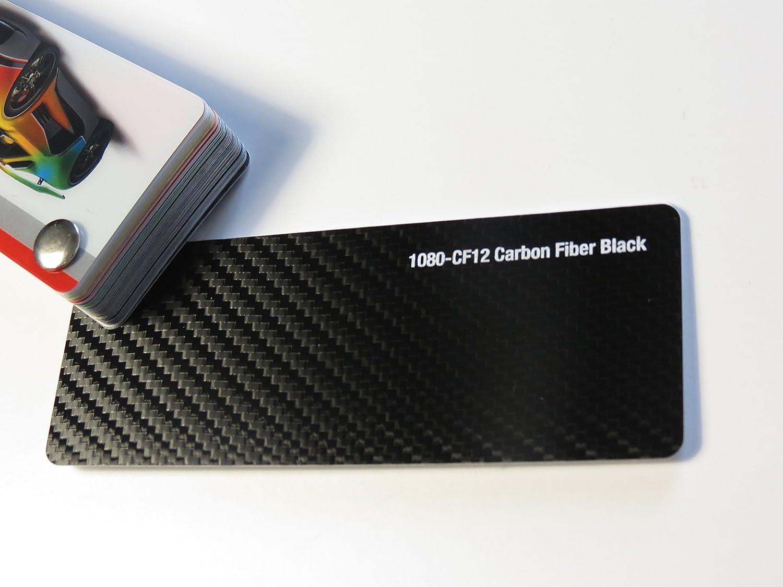 3 M scotchprint 1080 film de 'covering noir en fibre de carbone 3D large dé coupe x 100 152 cm 3M