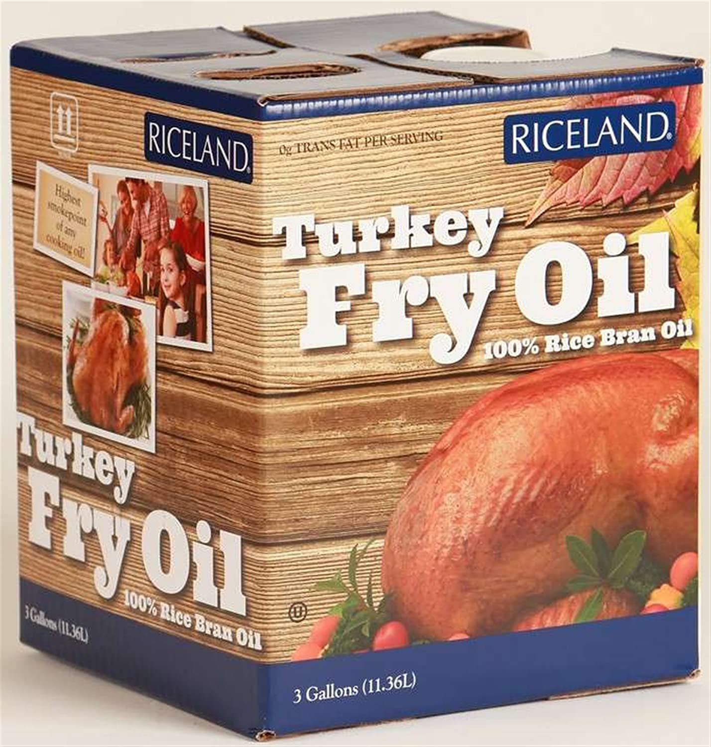 Riceland Turkey Fry Oil - 3 Gallon