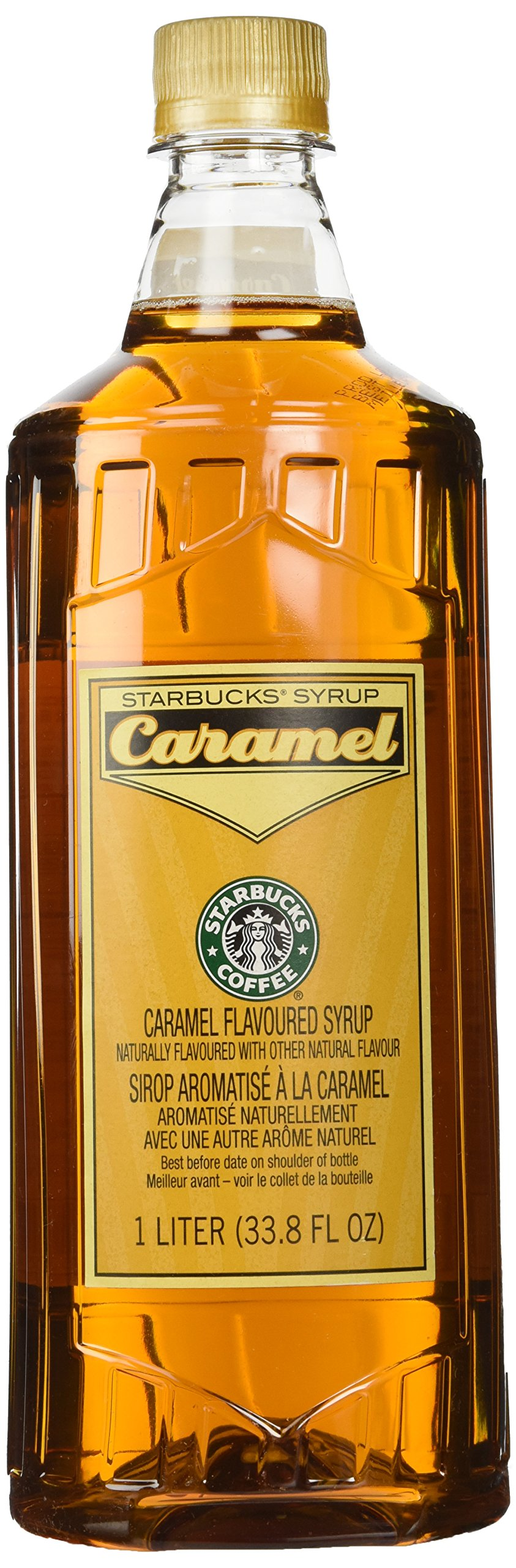 Amazon.com : Starbucks Vanilla Syrup (1-L.) : Beverage Flavoring Syrup : Grocery & Gourmet Food