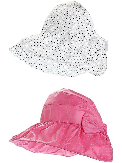 Amazon.com  Maxdot 2 Pack Baby Toddler Flap Sun Protection Swim Baby ... 2d61b9ad19f