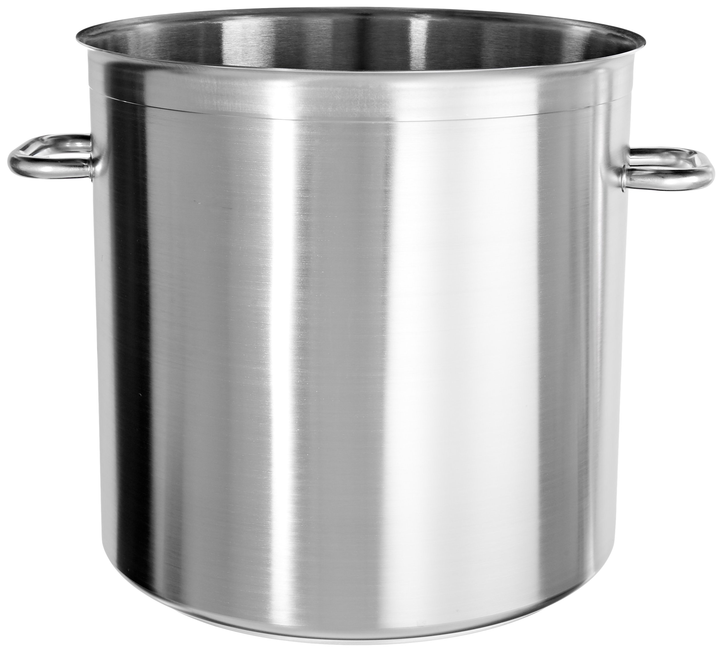 Matfer Bourgeat 694040 Excellence Stockpot without Lid, 15-3/4-Inch, Gray