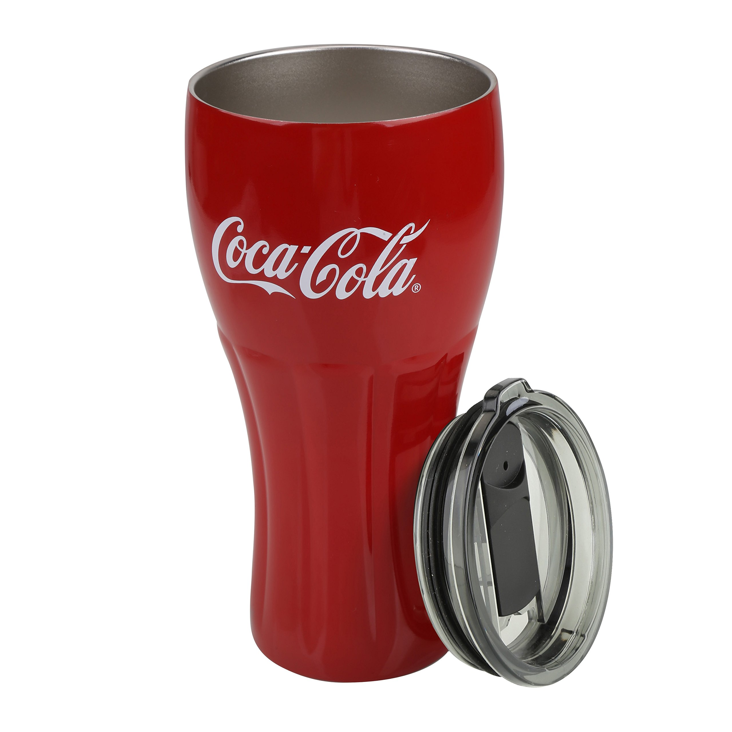Coke Coca Cola Logo Ruby Red Plastic Tumblers Set of 6-20oz