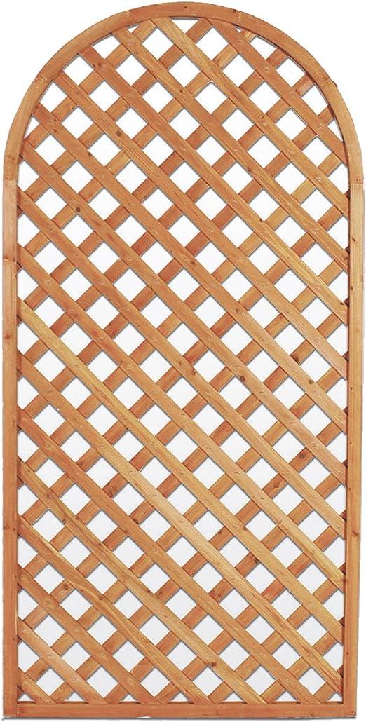 EV Panel de Arco de Madera decoración Valla divisorio Jardín Balcón 90 x 180 cm: Amazon.es: Jardín
