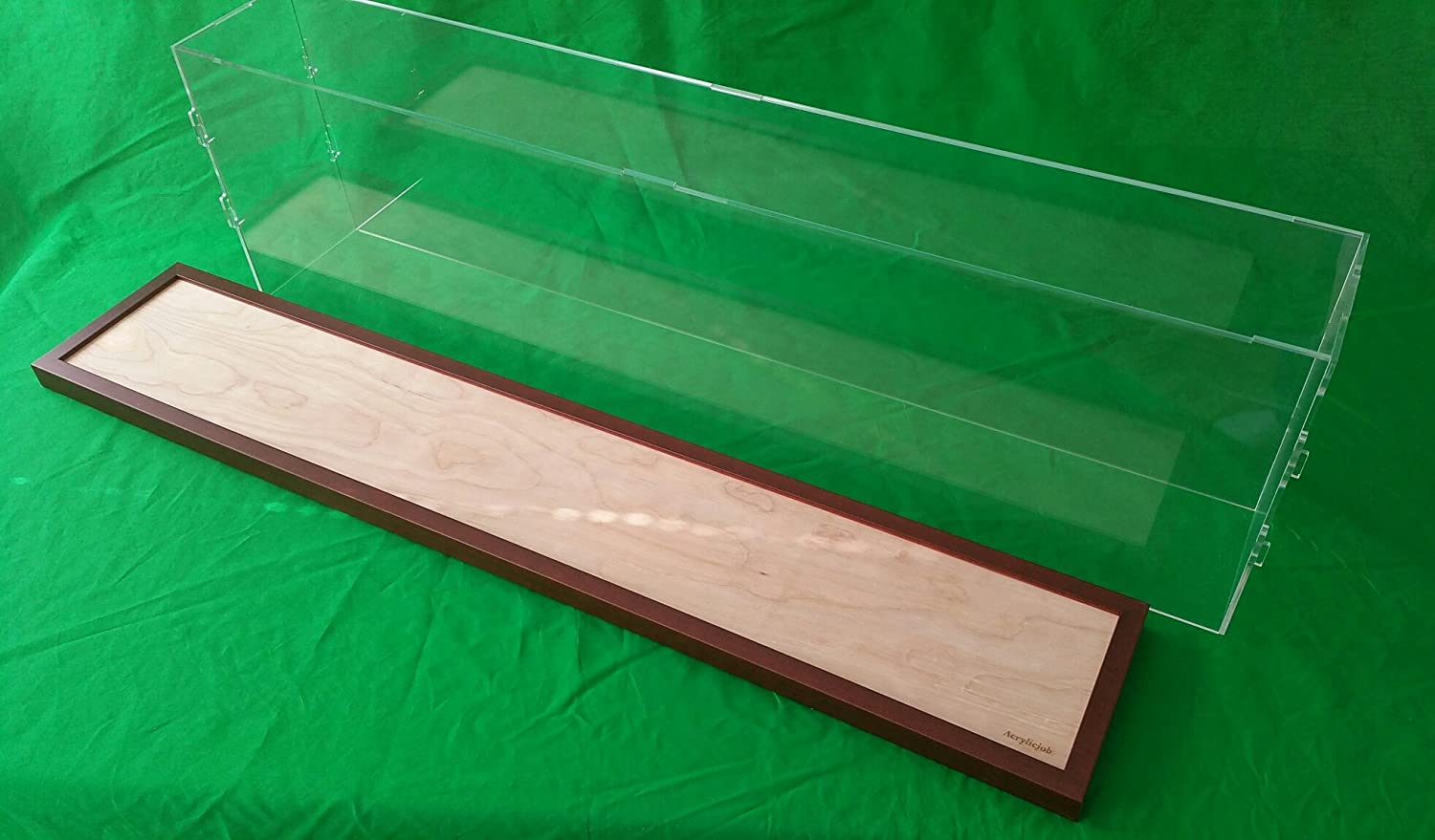 42 L x 6 W x 12 H Display Case Box for Model Cruise Ships and Ocean Liner LGB and G Scale Trains 1//32 1//23 Plexiglass Acrylic