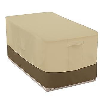 Classic Accessories Veranda Patio Deck Box Cover   Durable And  Water Resistant Patio Furniture Cover