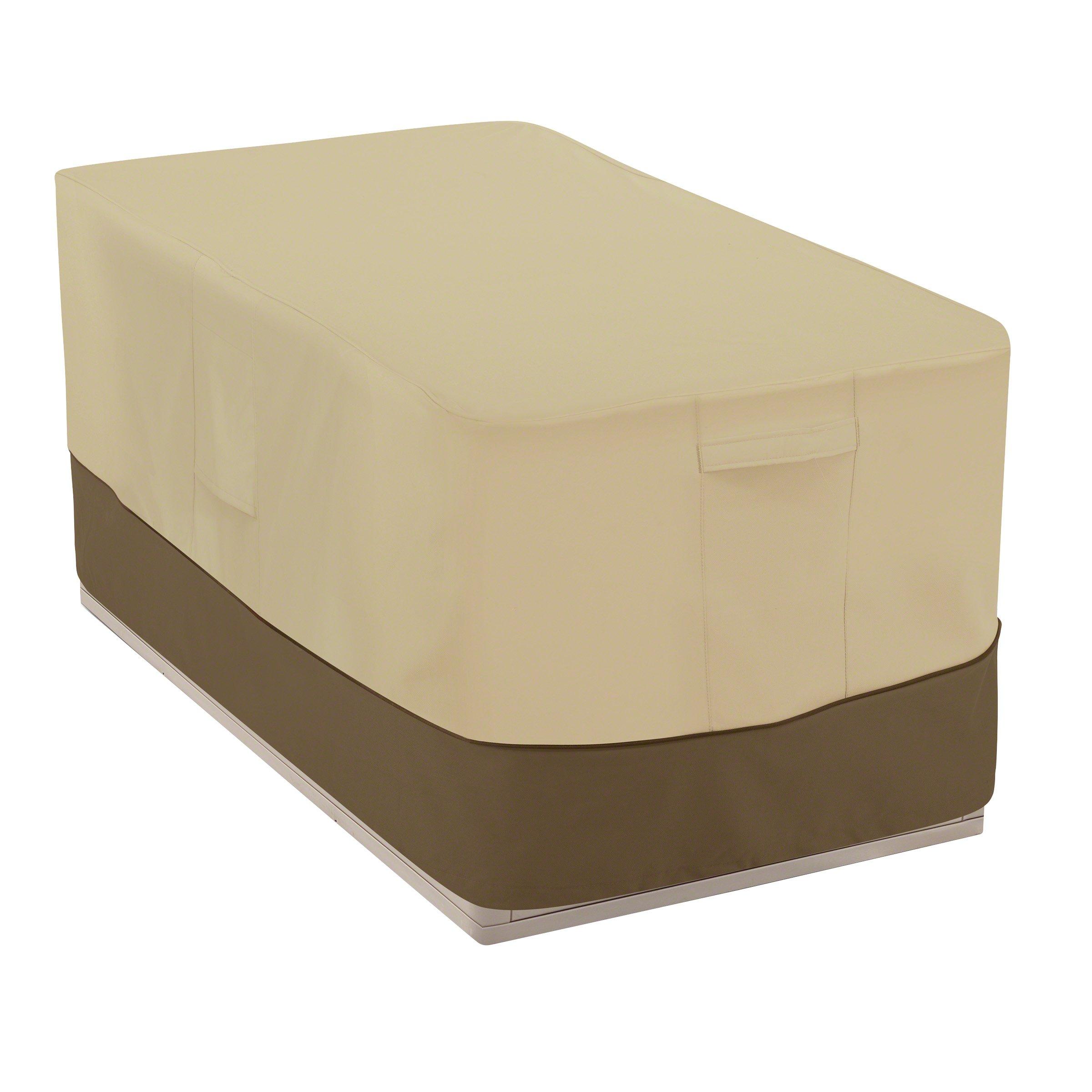 Classic Accessories Veranda Patio Deck Box Cover - Durable and Water-Resistant Patio Furniture Cover, 55-Inch (55-706-011501-00)