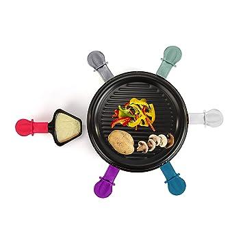 Raclette Grill 6 personas Grillplatte Tischgrill Elektrogrill ...