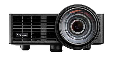Optoma ML1050ST - Proyector LED Ultra Corto, 1000 Lúmenes, 20000:1 Contraste, Formato 16:10, Color Blanco