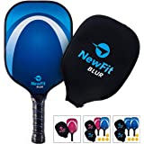 NewFit Blur Pickleball Paddle | USAPA Approved | Graphite Face & Polymer Core for a Quiet