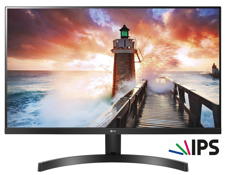 LG 24MK600M-B - Monitor de 24' IPS Full HD con 3 Lados sin Bordes, 16:9, Antirreflejos, 3H, NTSC 72%, HDMI, Negro