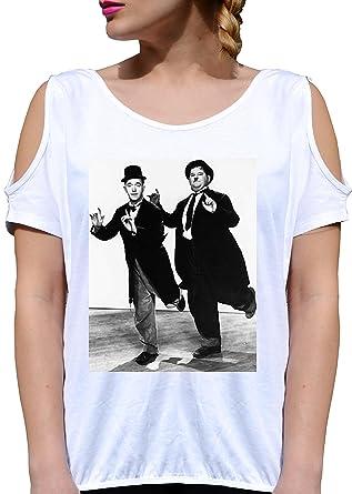 JODE T Shirt Girl GGG27 Z2865 Laurel & Hardy Cinema Classic Icon Vintage Fun  Fashion Cool: Amazon.de: Bekleidung