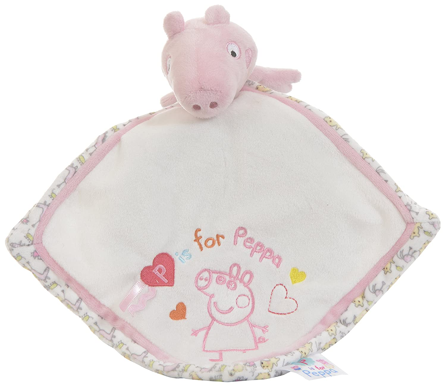Peppa Pig Comfort Blanket for Baby, By Rainbow Designs BabyCenter PP1287