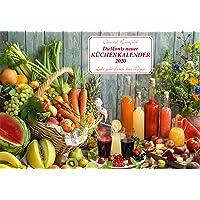 DuMonts neuer Küchenkalender 2020 - Broschürenkalender - mit Rezepten und Gedichten - Format 42 x 29 cm: Liebe geht durch den Magen