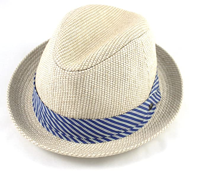 Amazon.com  Gucci Straw Fedora Straw Hat ae70386dc982