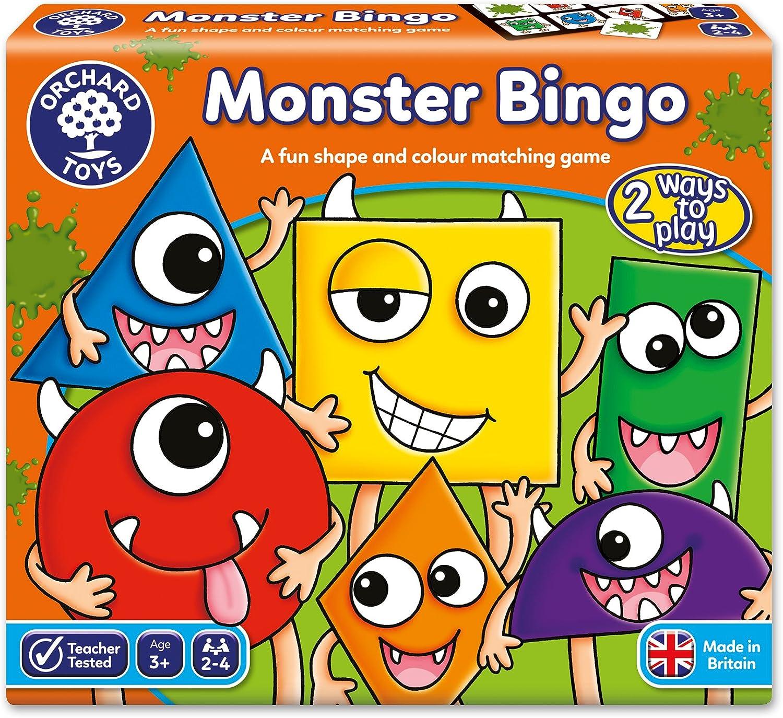Orchard_Toys El Bingo de los Monstruos - Juego de Mesa: Amazon.es ...