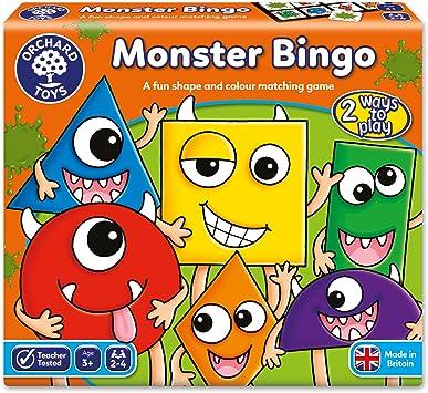 Orchard_Toys El Bingo de los Monstruos - Juego de Mesa: Amazon.es: Juguetes y juegos