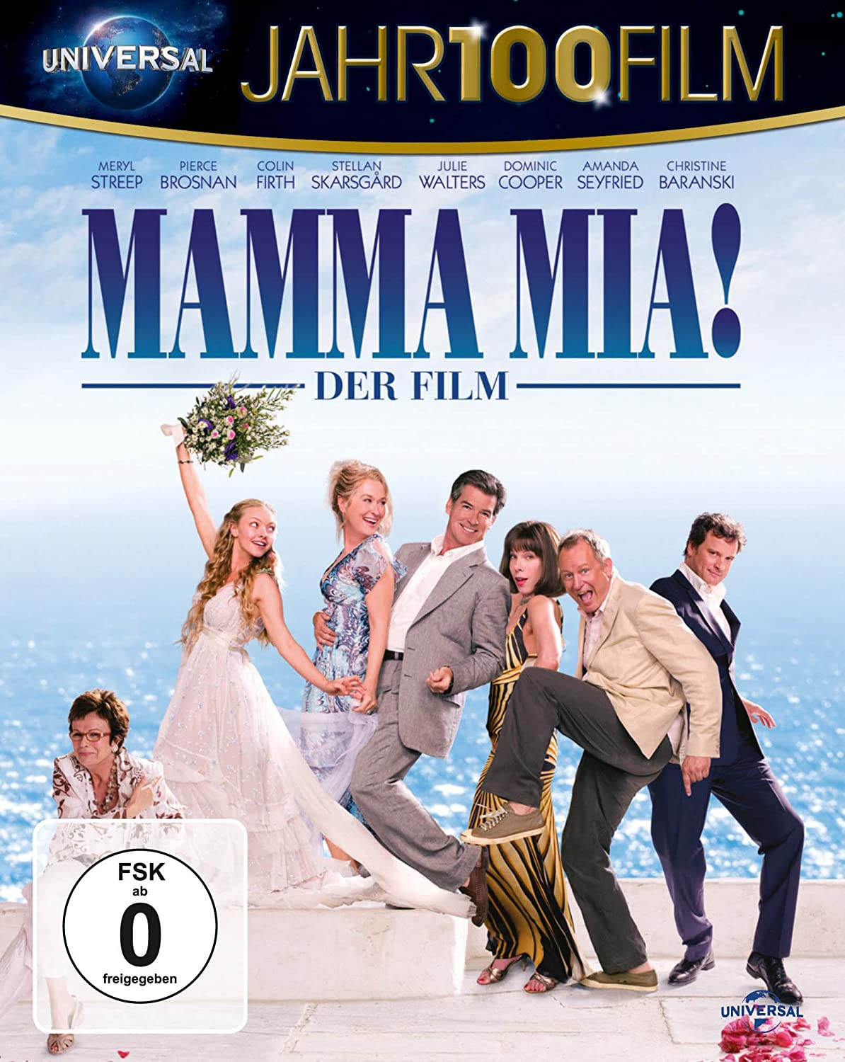 Mamma Mia! - Der Film - Jahr100Film Alemania Blu-ray: Amazon.es ...