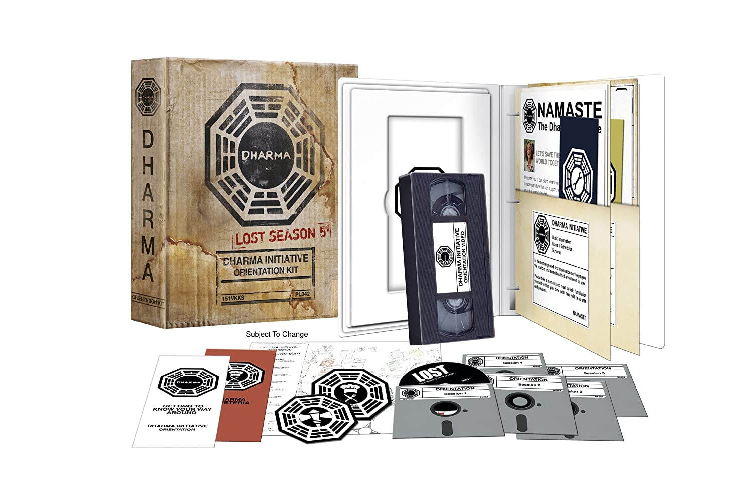 Amazon.com: Lost: Season 5 Dharma Initiative Orientation Kit ...