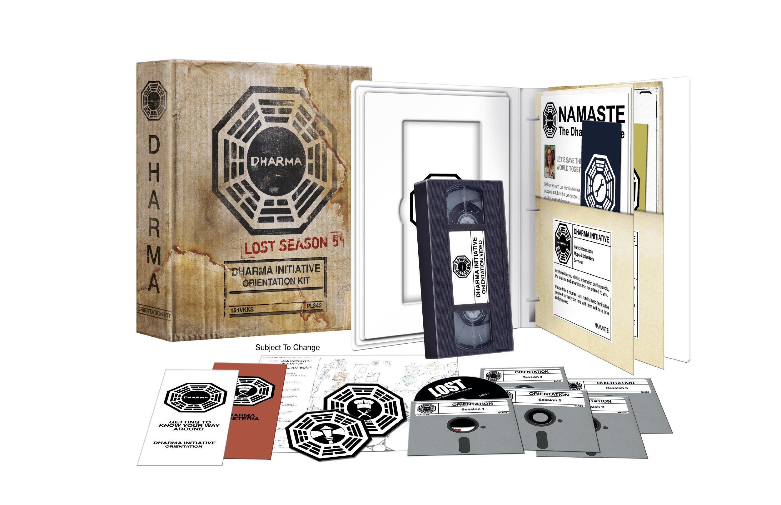 Lost: Season 5 Dharma Initiative Orientation Kit [Blu-ray]