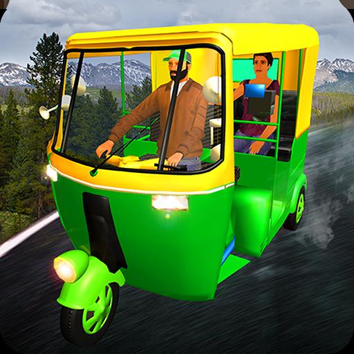 Hillside Tuk Tuk Auto Rickshaw Taxi Driver 2017 - York Test Eye