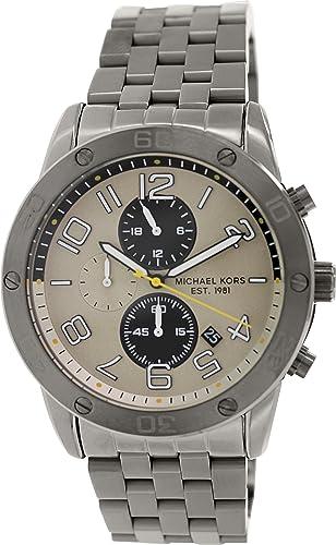 Michael Kors Mens MK8349 Mercer Black Stainless Steel Watch