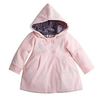 3b235cba1673 David Nadeau New Baby Toddler Girls Fall Winter Horn Button Hooded ...