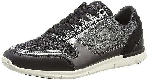 5cf9503ae7e2 Tommy Hilfiger Women s Sparkle Light Sneaker Low-Top  Amazon.co.uk ...