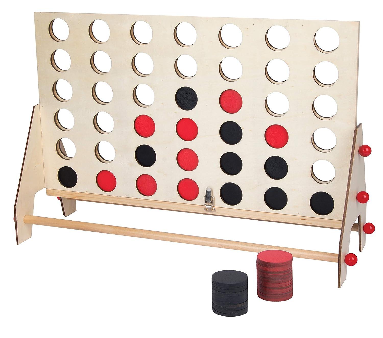 上品なテーブルトップ 4列 木製ゲームセット クラシックボードゲームコレクション スタイリッシュな天然木製 ヴィンテージデザイン ゲームナイトや新築祝い、家族で楽しめる必須のゲーム B07N1VGJJ1