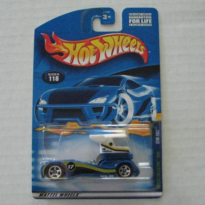 2000 Hot Wheels Virtual Collection Semi Fast #118