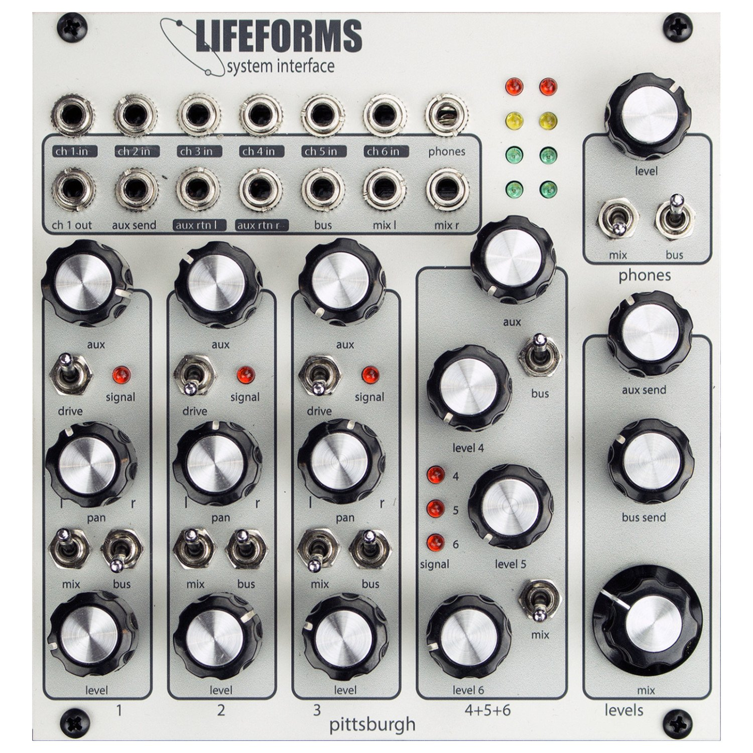 Pittsburgh Modular Synthesizers LIFEFORMS SYSTEM INTERFACE
