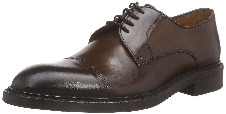 TALLA 45 EU. Lottusse L6723-00506-01 - Zapatos de Cordones Derby Hombre
